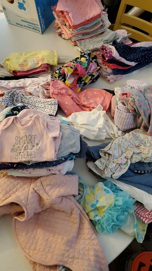 Baby girl clothes 0-9 months lot for Sale in BRECKNRDG HLS, MO