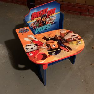 kids paw patrol desk chair for Sale in Woodbury, NJ