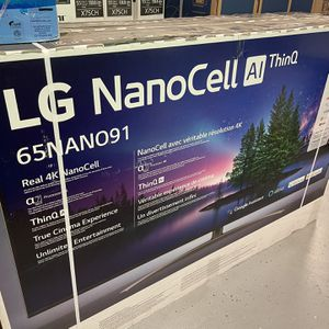 """LG 65"""" NanoCell Smart 4K UHD HDR TV for Sale in Apple Valley, CA"""