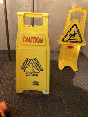Wet floor signs for Sale in Fresno, CA