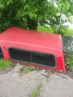 Fiberglass camper top for a sidestep Chevy bed for Sale in Detroit, MI