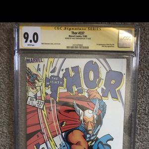 CGC Signature Series Thor 337 (9.0) LOCAL PICKUP ONLY for Sale in San Juan Capistrano, CA