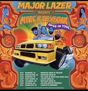 Major lazer drive in tour!!!! for Sale in Colton, CA