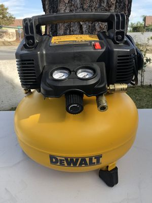 DEWALT 6 Gal. 165 PSI Electric Pancake Air Compressor for Sale in Riverside, CA