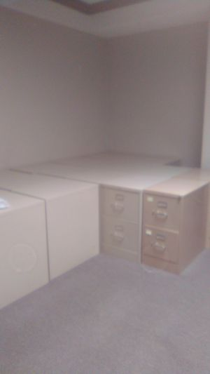 Various sizes steel filing cabinets for free. for Sale in Laguna Hills, CA