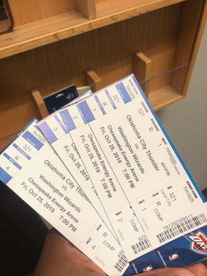 Oklahoma City Thunder tickets for Sale in Oklahoma City, OK