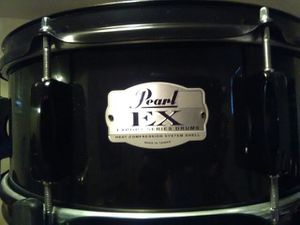 Pearl EX export series snare drum 14inch x 5.5inch Black on Black hardware for Sale in Clinton, MD