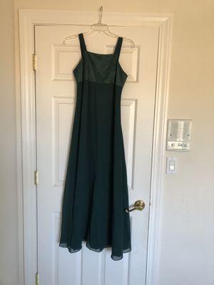 Beautiful Classic Emerald Green Long Dress for Sale in Danville, CA