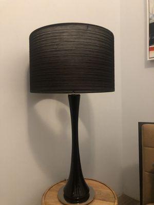 Macy's black table lamp for Sale in Scottsdale, AZ