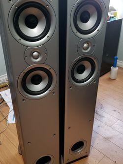 Loud Speakers Tower Pair $50 Obo for Sale in Garden Grove,  CA