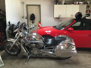 One of a kind Harley Davidson chrome vrod for Sale in Chicago, IL