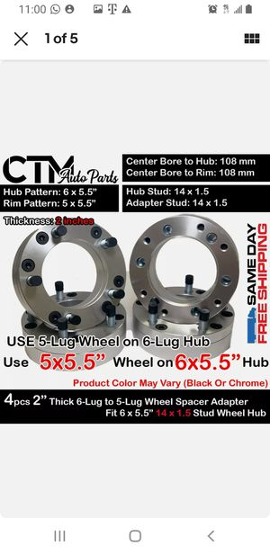 Wheel adapters / spacers for Sale in Cutler Bay, FL