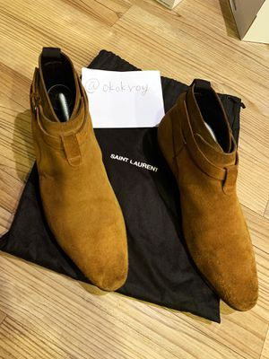 Ysl Saint Laurent sueded boots size 9-10 for Sale in Irvine, CA