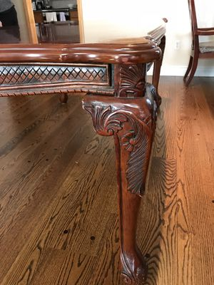 Dining table with Chairs! Barely used! for Sale in Spotswood, NJ