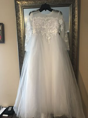 """New"" Formal/Flower Girls Dress size 8-10T $15 for Sale in La Vergne, TN"