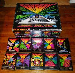 Magnavox Odyssey 2 in box with games Nintendo Sega Atari for Sale in Chicago, IL