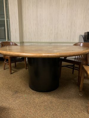 Solid wooden dining table for Sale in Allentown, PA