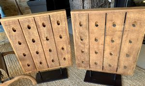 (2) Pottery Barn Succulent Wall Stand Holders for Sale in Dallas, TX