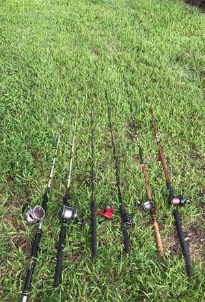 Penn fishing rods + okuma fishing rodes for Sale in Weston, FL