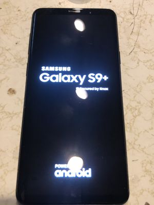 Barely used Samsung S 9 plus 64gb for Sale in Mason City, IA