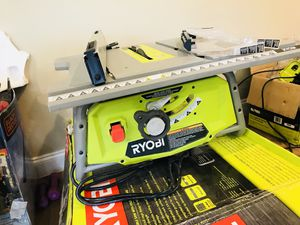 Ryobi 10 in Table Saw for Sale in Dallas, TX