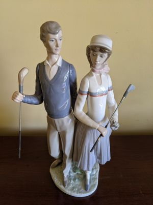 Lladro Golfing Couple for Sale in Homer Glen, IL