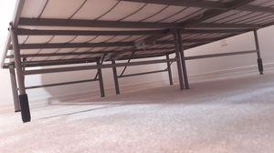 Bed frame+memory foam for Sale in Milton, FL