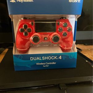 Controller Red Ps4 New for Sale in Phoenix, AZ