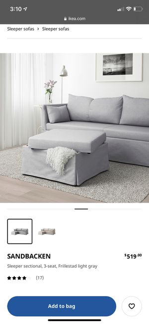 IKEA sleeper sofa for Sale in Redmond, OR