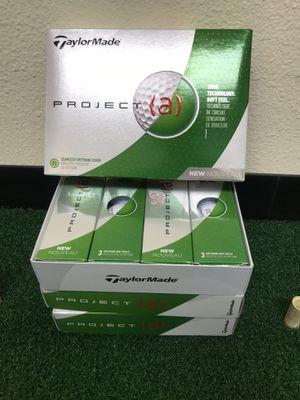 Taylormade Project a Golf Balls 1 Dozen for Sale in Pomona, CA