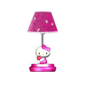 "Hello Kitty 16-1/2"" Magenta Table Lamp for Sale in Chesapeake, VA"