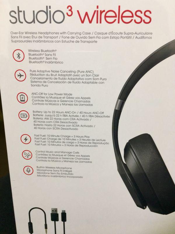 Beats by Dre Studio Wireless 3.0 (Latest Version) BRAND NEW/SEALED