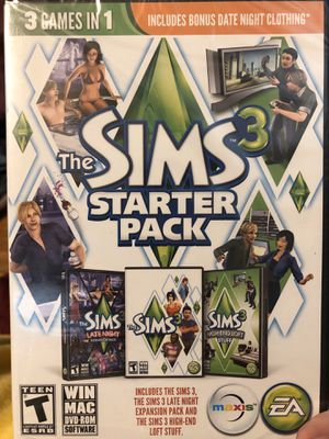 Sims 3 starter pack- 3 games in 1 - PC computer for Sale in Barboursville, VA