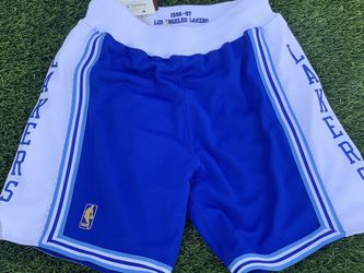 Mitchell And Ness Lakers City Authentic Shorts Size Medium for Sale in Los Angeles,  CA