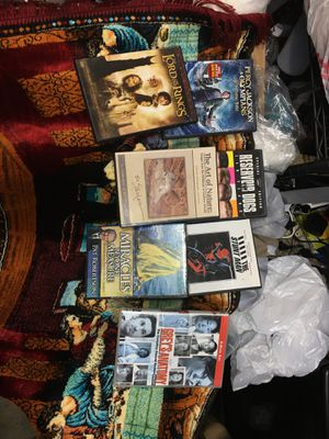 Lord of the ring and 6 other Movies all 7 movies package for Sale in Hacienda Heights, CA