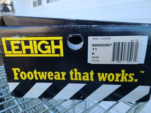 New Lehigh steel toe work boots for Sale in Barnegat, NJ