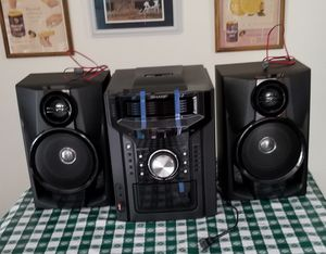 Price reduced! Sharp mini component stereo system for Sale in Muskegon, MI
