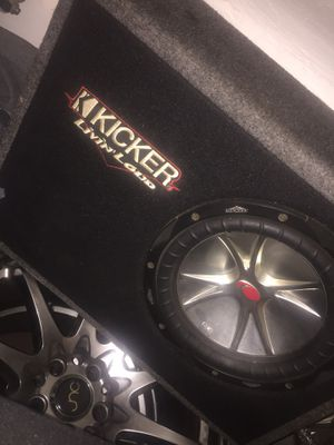 Kicker ten works great willing to make trades for Dirt Bike Or PS4 for Sale in Batsto, NJ