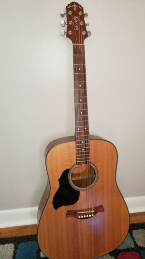 Crafter left handed Acoustic Guitar for Sale in Grand Haven, MI
