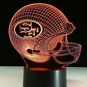 San Francisco 49ers NFL Night Light Lamp for Sale in Cherry Hill, NJ