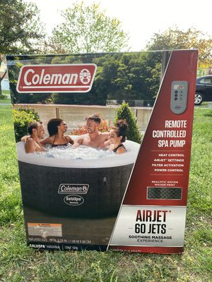 Coleman Saluspa Havana Inflatable Hot Tub for Sale in Gaithersburg, MD