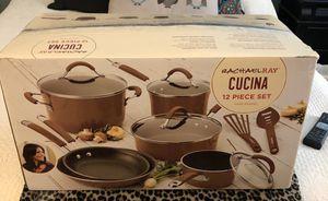 Rachel Ray Cucina 12 Piece Hard Enamel cookware for Sale in Trenton, NJ