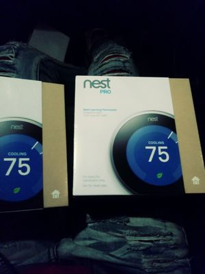 Nest Thermostat 1/$150 both for $240 for Sale in Atlanta, GA