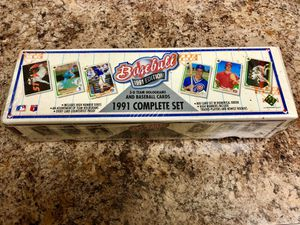 Baseball Cards: 1991 Upper Deck Complete Set (Factory Sealed Box) for Sale in Hialeah, FL
