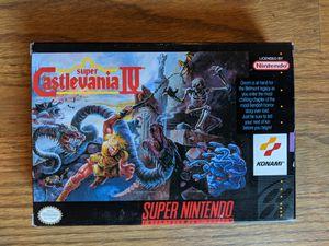 Super Castlevania IV cib SNES complete for Sale in Parma, OH