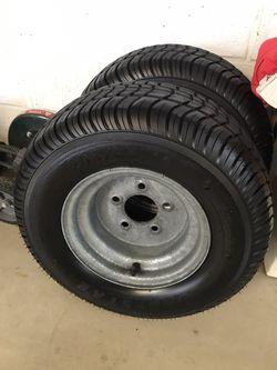Trailer tire rims for Sale in Addison,  IL