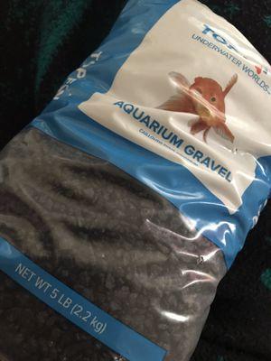 Aquarium Gravel 5lb for Sale in Dallas, TX