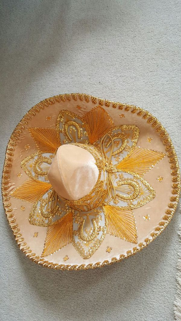 Decorative authentic mexican hat