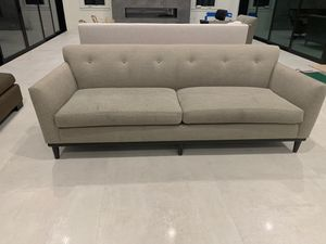 Grey contemporary comfortable couch for Sale in Danville, CA