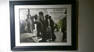 Large framed black-and-white photo 1950 Paris for Sale in Crofton, MD